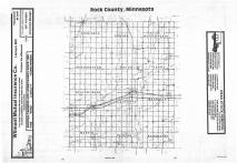 Index Map, Rock County 1987